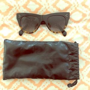 🕶🕶🕶Celine cat eye sunglasses 🕶 black